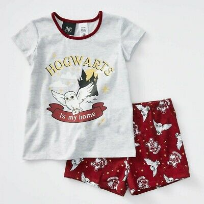 Harry Potter Boys Kids Summer Pyjamas New with Tags sizes 2-5 free postage