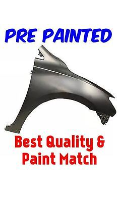 New PRE PAINTED Passenger RH Fender for 2013-2015 Nissan Sentra   w Free TouchUp