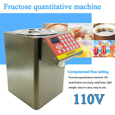 9L Fructose Dispenser Bubble Tea Equipment 280W Fructose Quantitative Machine