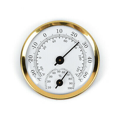 Mini Wall Hanging Weather Station Barometer Thermometer Hygrometer 57*12.5mm