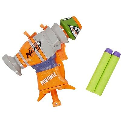 Fortnite RL MicroShots Dart-Firing Toy Blaster and 2 Official Nerf Darts