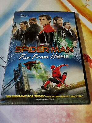 Spider-Man: Far From Home (DVD, 2019) Marvel Movie!