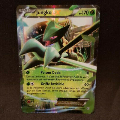 CARTE POKEMON ULTRA RARE JUNGKO EX 84//98 VF NEUVE ORIGINES ANTIQUES