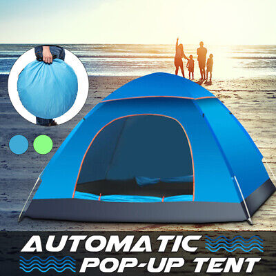 2-3 Person Waterproof Camping Tent Automatic Quick Shelter Outdoor Travel Hiking