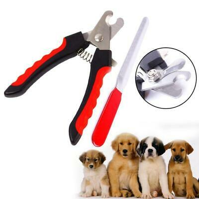 New Pet Nail Dog Cat Claw Clippers Toe Trimmer Scissors Grooming Cutters L Size
