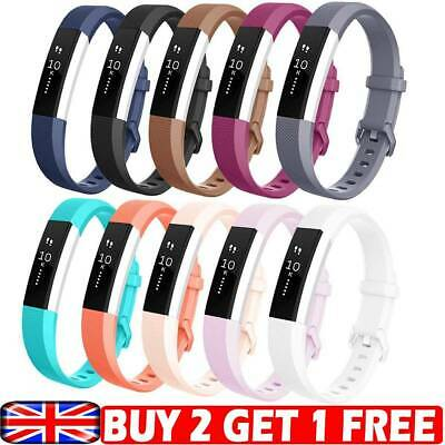 For Fitbit Alta HR ACE Wrist Strap Replacement Silicone Buckle Sport Watch band