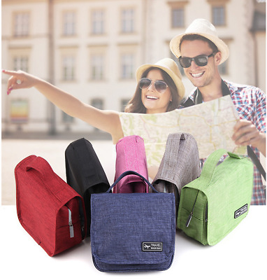 Portable Toiletry Storage Bag Cosmetic Makeup Pouch Waterproof Outdoor Travel