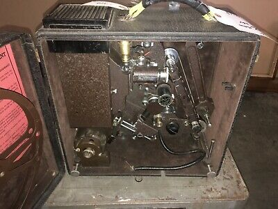 Vintage 1930's De Vry 16mm Sound Projector Clean!