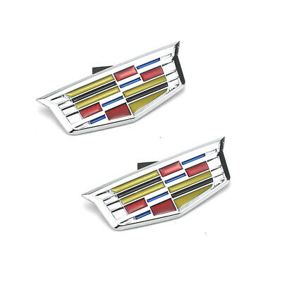 Cadillac CT6 XT5 2016 /& 2017 Grill Crest OEM Front Emblem 24K GOLD PLATED