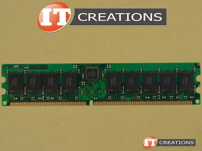 Lot of 4 1GB Micron PC-3200R Reg ECC DDR-400 Server Memory MT18VDDF 12872G-40BD3