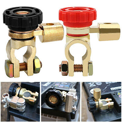 17mm Universal Car Auto Battery Isolator Disconnect Power Cut Off Kill Switch