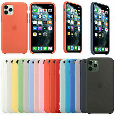 Original Silicona Genuina Case Funda Para iPhone 6 7/8 Plus X XR XS 11 Pro Max
