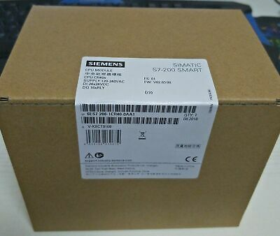1PC New Siemens 6ES7288-1CR40-0AA1 PLC S7-200 Smart CPU Module In Box