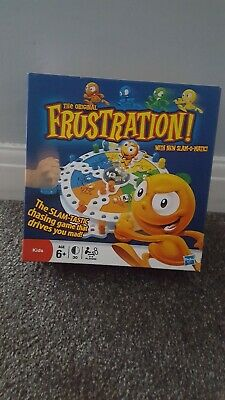 The Original Frustration Board Game! With New Slam-O-Matic - Complete - VGC