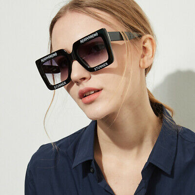 Trending 2020 Letter Square Sunglasses Women Outdoor Glasses Men Shades Eyewear