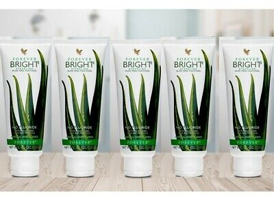 FOREVER LIVING BRIGHT TOOTHGEL x 5pc - BRAND NEW - SEALED - 130G ea