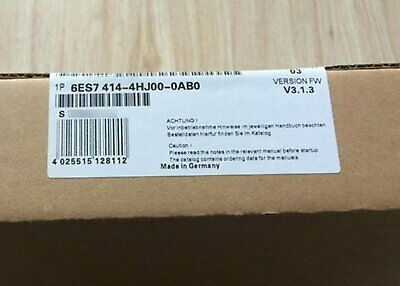 New In Box Siemens 6ES7414-4HJ00-0AB0 6ES7 414-4HJ00-0AB0 One year warranty #XR
