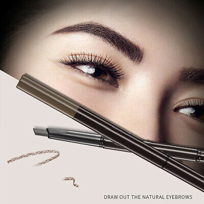 FJ- Long Lasting Double Head Waterproof Eyebrow Pencil with Brush Automatic Make