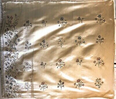 Rare Beautiful 18th century French Silk Woven Beauvais Embroidery  (2949)