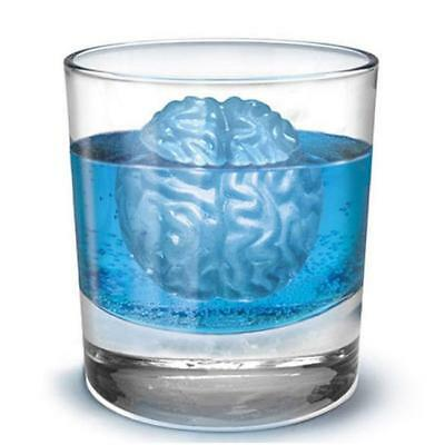Brain Shape 3D Ice Cube Mold Maker Bar Party Silicone Tray Halloween Mold N7