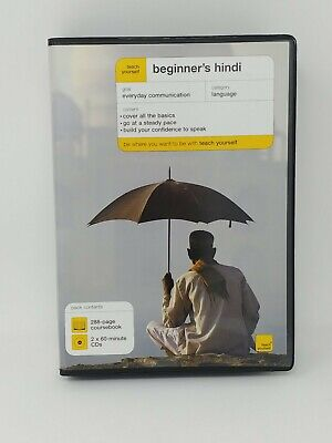 Teach Yourself Beginner's Hindi Book/CD Pack By Rupert Snell