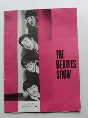 THE BEATLES CONCERT Programme Margate Pop Rock n Roll John Lennon Booklet  Retro - EUR 2,58 | PicClick FR