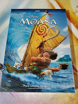 Moana (DVD, 2017) Brand New Free Shipping USA Seller