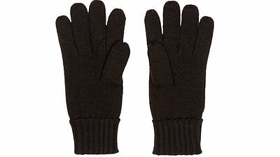Original audi Collection Unisex Knitted Gloves M Black 3131302803