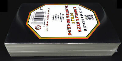 100 Docsmagic.de Regular Size Comic Backing Boards - 181 x 266 mm - 24pt White -