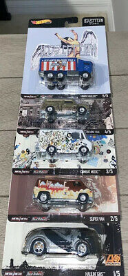 2020 Hot Wheels Pop Culture LED ZEPPELIN Set of 5 - In hand Ready to Ship