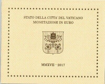 2017 Vatican MMXVII UNC Set of 8 Coins