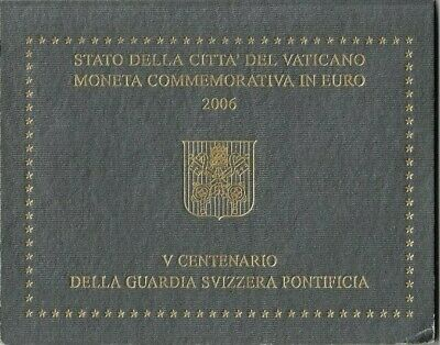 2006 Vatican Swiss Guards 2 Euro UNC Coin