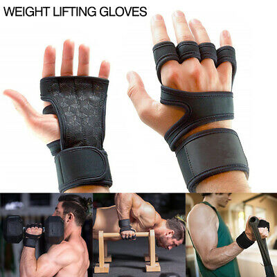 Fitness Training Weight Lifting Tight Gel Gloves Cross Body Building