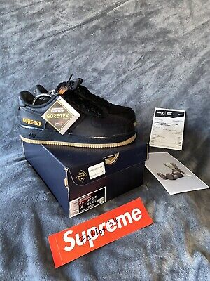 NIKE AIR FORCE 1 CK2630 EU 42 US 8.5 Gore Tex Schwarz GTX