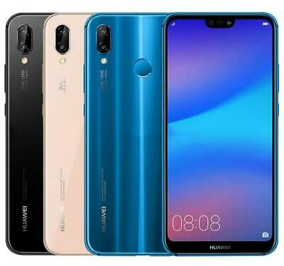 Huawei P20 Lite ANE-LX1 32GB Unlocked 4G LTE Andriod  Smartphone Various Colours