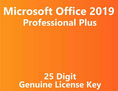 Microsoft Office Professional Plus 2019 - License Key for PC