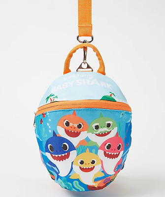 Baby Shark Reins Backpack Children NEW