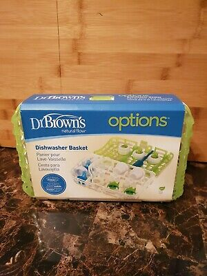 Dr. Brown's Options Dishwasher Basket Natural Flow Standard Baby Bottle Parts