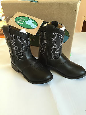 Swift Creek Youth Boys/' and Cowboy Boot 1725-Y Square Toe