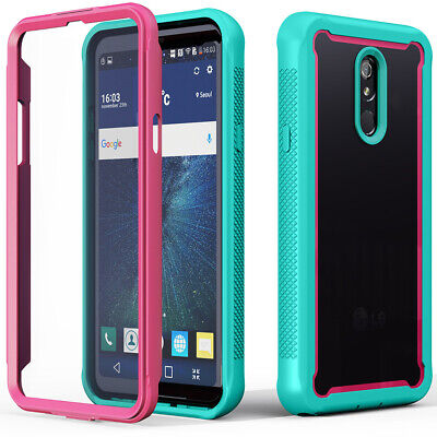 For LG Stylo 5 Plus Shockproof Hybrid Rubber Hard Slim Bumper Phone Case Cover