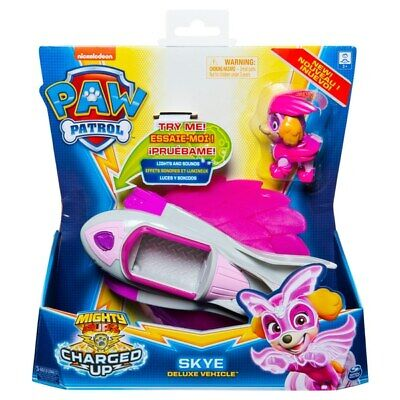 PAW Patrol Mighty Pups Charged Up Skye Deluxe Vehicle Pre Order