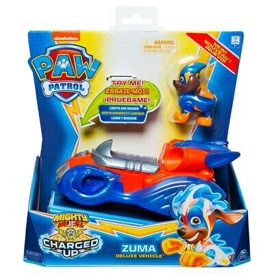 PAW Patrol Mighty Pups Charged Up Zuma Deluxe Vehicle Pre Order