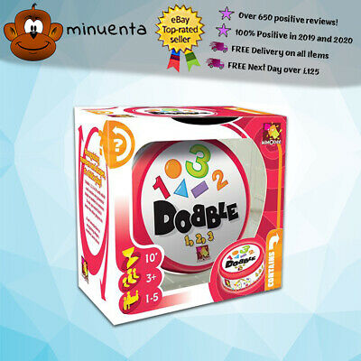 Dobble 1, 2, 3 | Dobble Card Game | Spot It | Best Selling Card Game | Asmodee