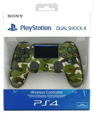 ** SEALED ** Genuine Sony Official Dualshock 4 Controller V2 GREEN CAMO PS4