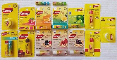 CARMEX***ASSORTED FLAVORED LIP BALMS***>>>PiCk YOuR FLaVoR<<<BRAND NEW~~~SEALED