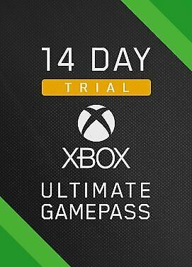 Xbox Game Pass Ultimate 14 Day Code included Live Gold + Instant Delivery