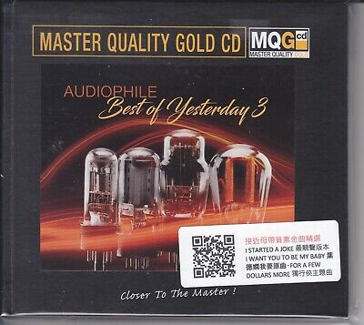 Audiophile Best Of Yesterday Vol.3 Master Quality Gold CD MQGCD MQG New Numbered