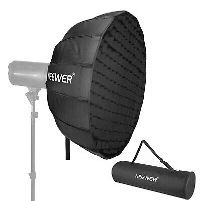 Neewer 34 Inches Hexadecagon Collapsible Silver Beauty Dish with Bowens Mount