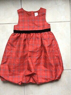 old navy toddler girl 5t Plaid Dress