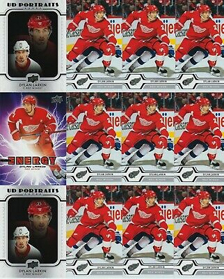 Dylan Larkin 12 Card Lot 19-20 Upper Deck # 28 Pure Energy Ud Portraits 2019-20